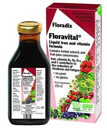 Floradix, Floravital Liquid Iron Herbal, 250ml