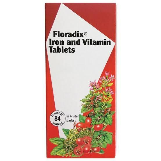 Floradix, Iron and Vitamin, 84 Tablets