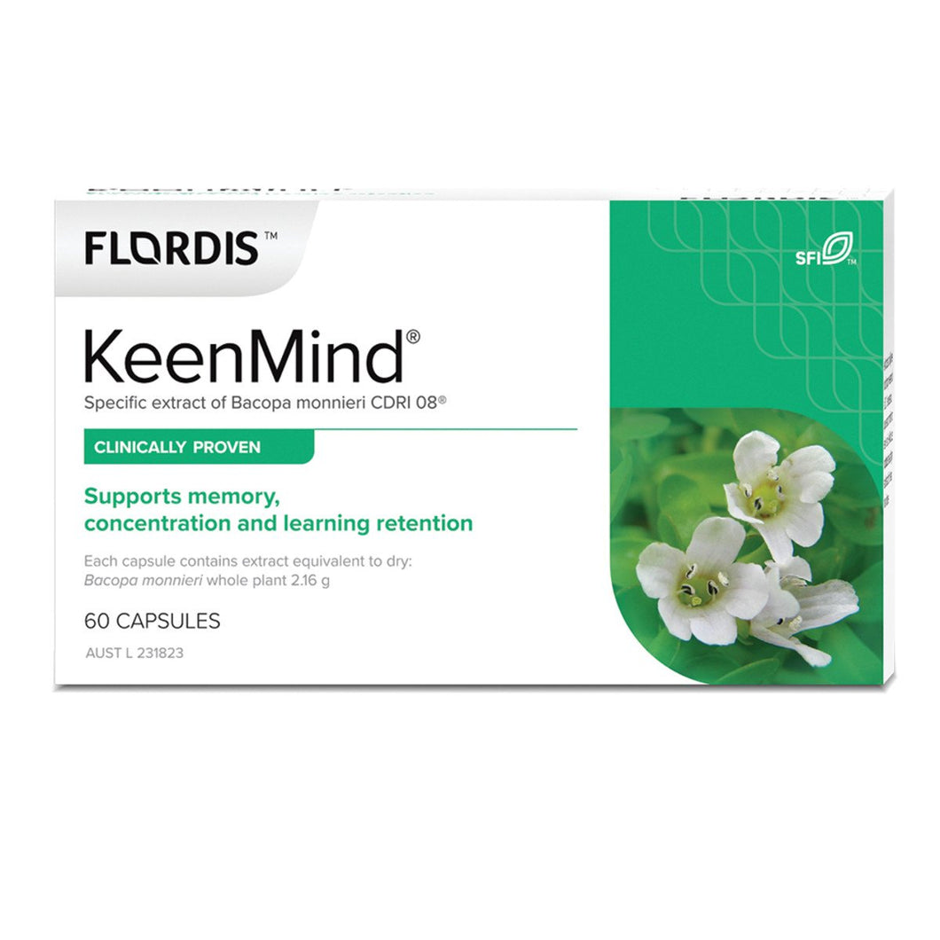 Flordis, Keen Mind, 60 Capsules