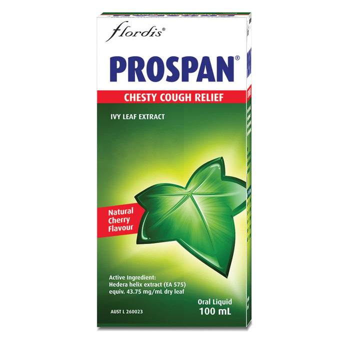 Flordis, Prospan Chesty Cough Relief, 100ml Oral Liquid