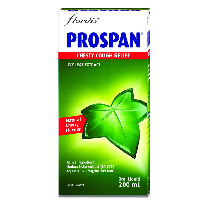 Flordis, Prospan Chesty Cough Relief, 200ml Oral Liquid