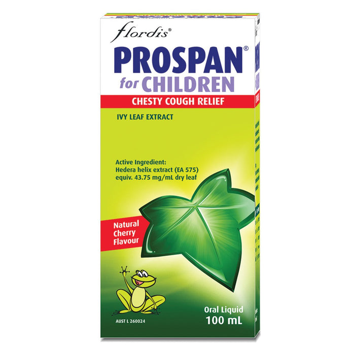 Flordis, Prospan For Children Chesty Cough Relief, 100ml Oral Liquid