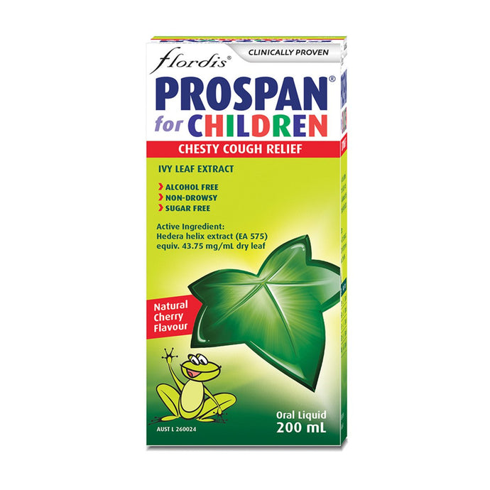 Flordis, Prospan For Children Chesty Cough Relief, 200ml Oral Liquid