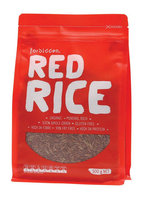 Forbidden Foods, Rice Red, 500g
