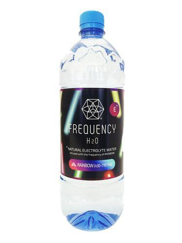 Frequency H2O, Alkaline Spring Water Rainbow, 1L