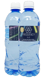 Frequency H2O, Alkaline Spring Water Rainbow, 600ml