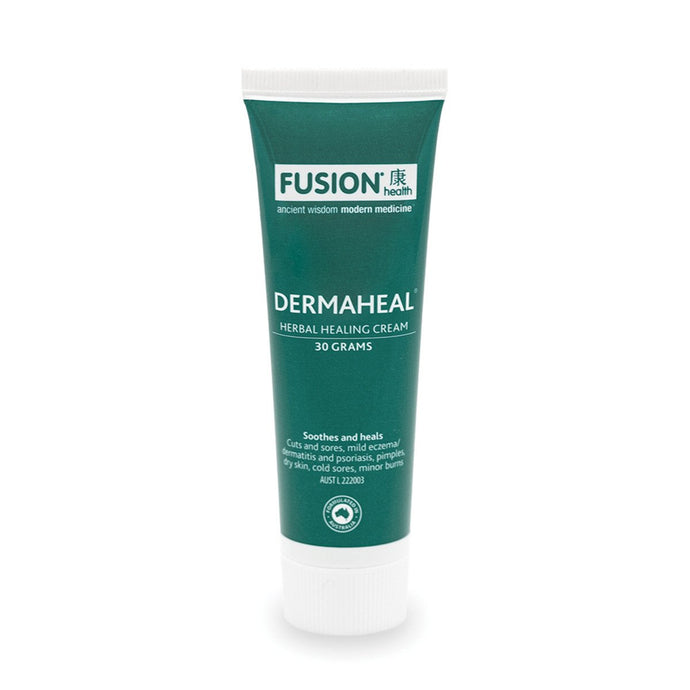 Fusion Health, Dermaheal Herbal Healing Cream, 30g