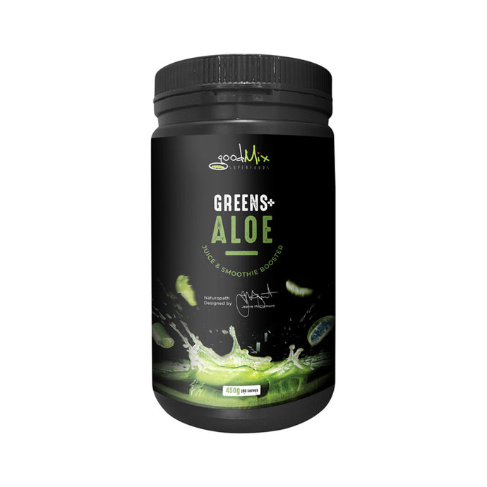 GoodMix Superfoods Greens + Aloe (Juice & Smoothie Booster) 450g