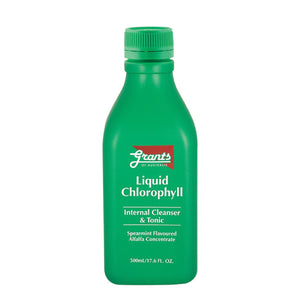 Grants, Liquid Chlorophyll Concentrate (Spearmint Flavour), 500ml