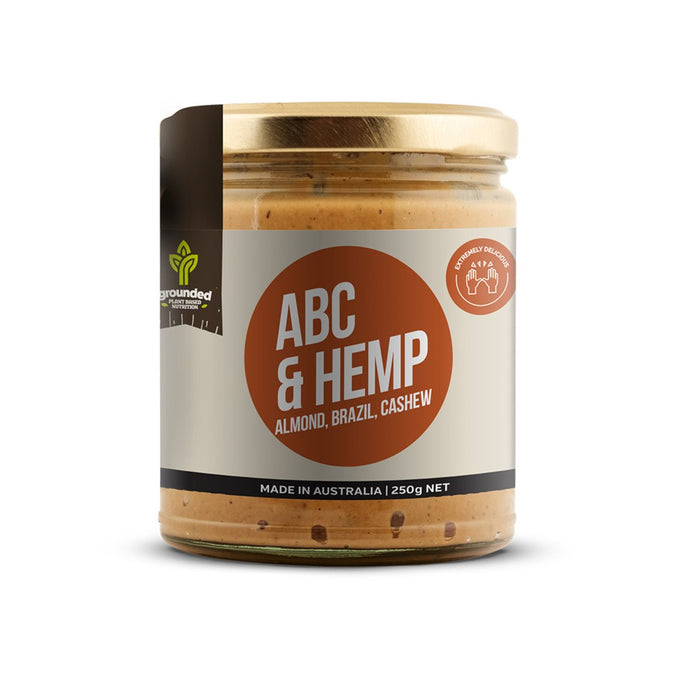 Grounded, Spread Abc And Hemp (Almond, Brazil, Cashew), 250g