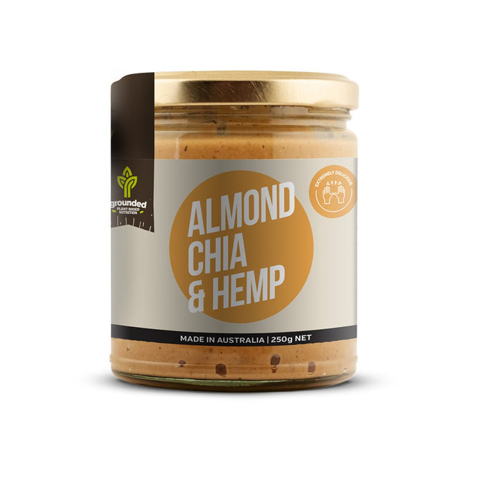 Grounded, Spread Almond Chia And Hemp, 250g