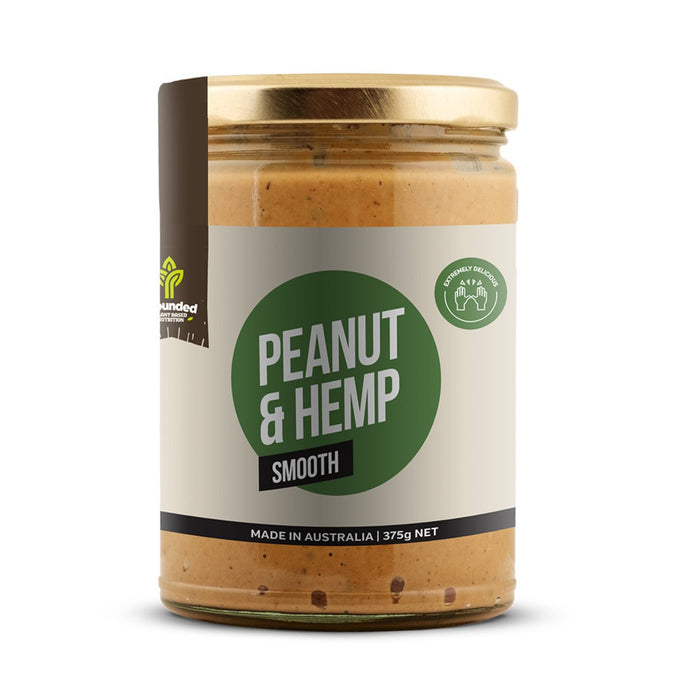 Grounded, Spread Peanut And Hemp Smooth, 375g