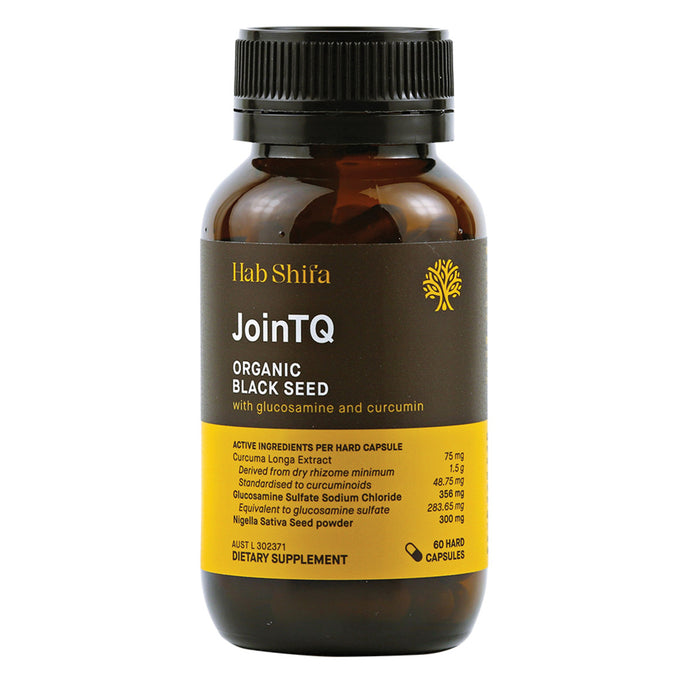 Hab Shifa JoinTQ Organic Black Seed with Glucosamine & Curcumin 60c