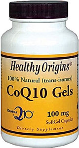 Healthy Origins CoQ10 Gels -- 100 mg - 60 Softgels