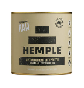 Hemple, Hemp Seed Raw Protein 50%, 500g