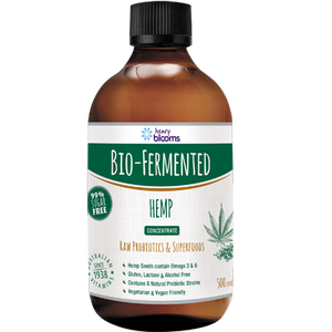 Henry Blooms, Bio Fermented Hemp, 500ml