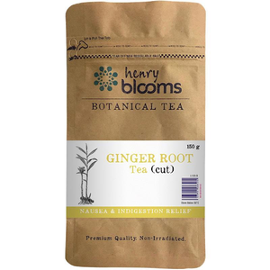 Henry Blooms, Ginger Root Tea - Cut, 150g