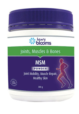 Henry Blooms, MSM Powder, 300 g