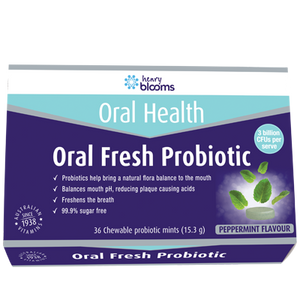 Henry Blooms, Oral Fresh Probiotic 36 chewable tablets