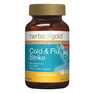 Herbs Of Gold, Cold & Flu Strike, 60 Tablets