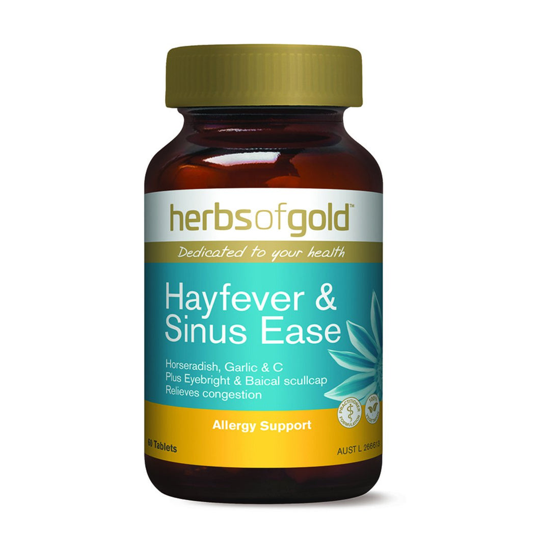 Herbs Of Gold, Hayfever And Sinus Ease, 60 Tablets