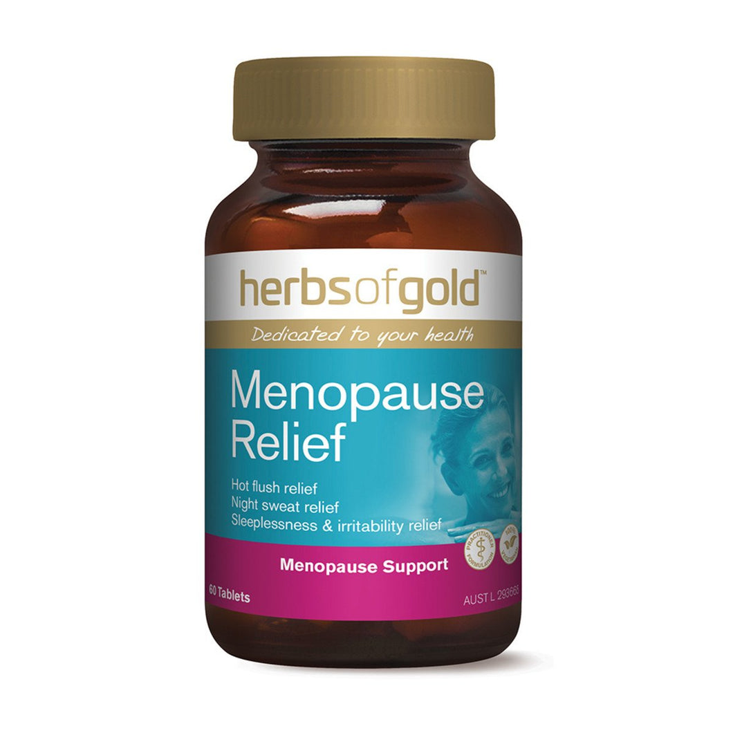 Herbs Of Gold, Menopause Relief, 60 Tablets