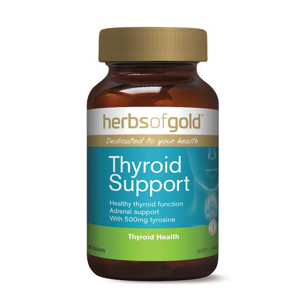 Herbs Of Gold, Thyroid Support, 60 Tablets