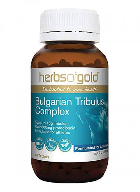 Herbs of Gold, Bulgarian Tribulus Complex, 60 Tablets