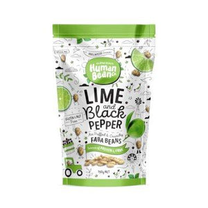 Human Bean Co, Faba Beans Lime & Black Pepper, 150g