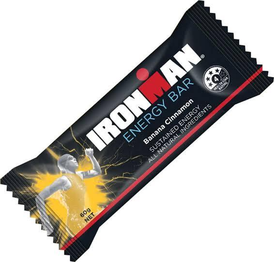 Ironman, Energy Bar Banana Cinnamon, 60g