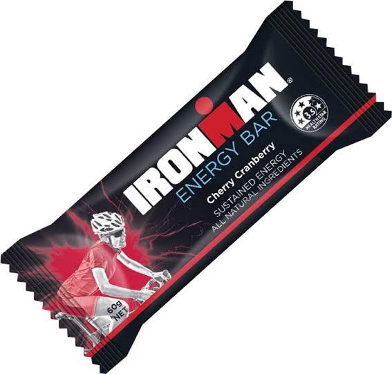 Ironman, Energy Bar Cherry Cranberry, 60g