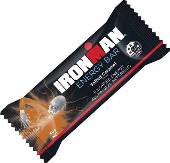 Ironman, Energy Bar Salted Caramel, 60g
