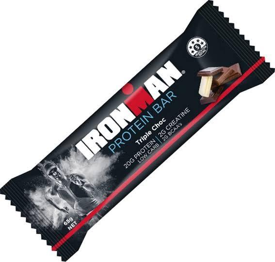 Ironman, Protein Bar Triple Choc, 65g