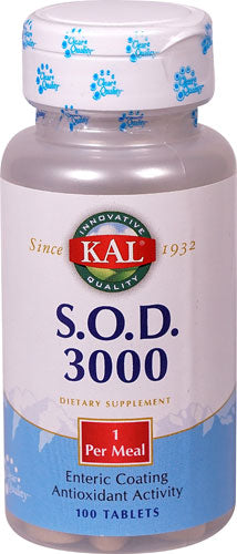 KAL S.O.D. 3000 -- 400 mg - 100 Tablets