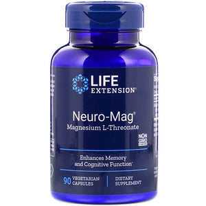 Life Extension Neuro-Mag Magnesium L-Threonate 90 VCaps