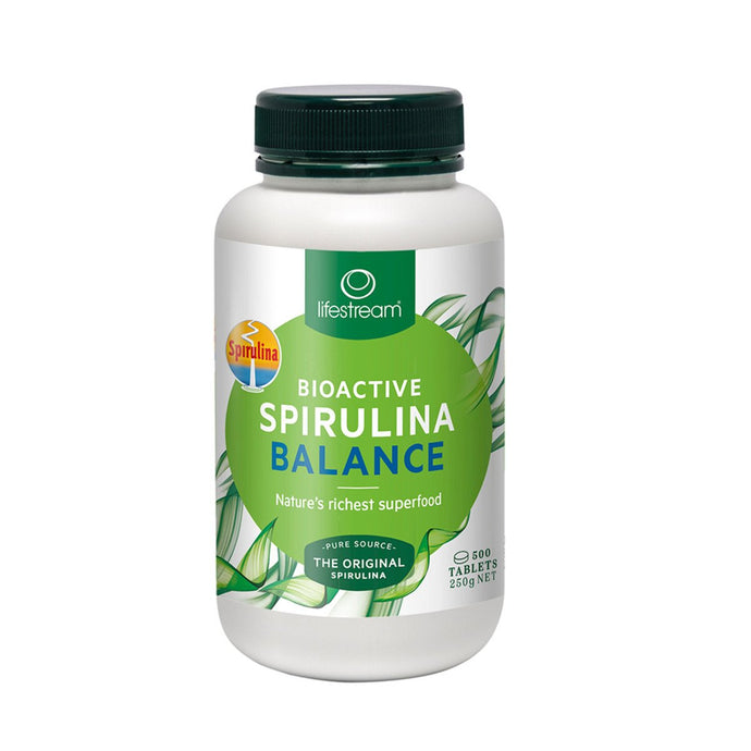 LifeStream, Bioactive Spirulina Balance, 500Mg, 500 Tablets