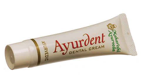 Maharishi, Ayurveda, Ayurdent, Dental Cream, Toothpaste, 75 ml