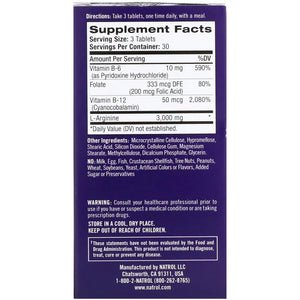 Natrol L-Arginine 3000 mg 90 Tablets - Dietary Supplement