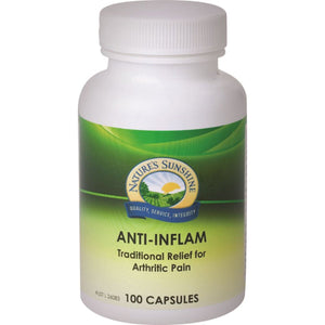 Nature'S Sunshine, Anti-Inflam, 100 Capsules