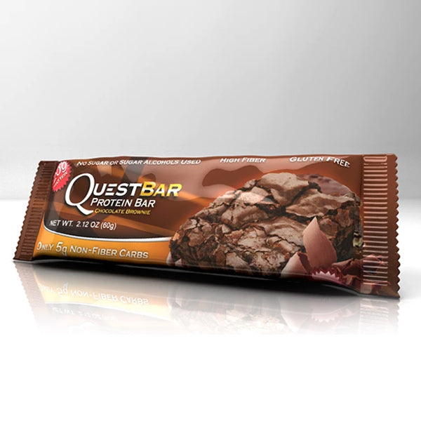 Quest Nutrition Protein Bar Chocolate Brownie 12 Bars 60g Each