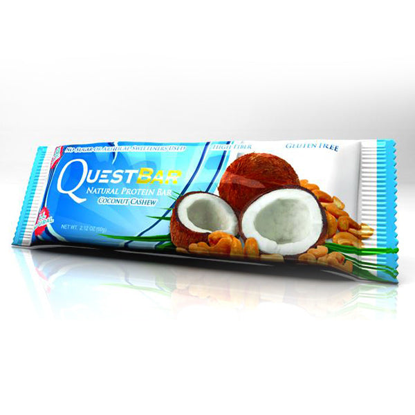 Quest Nutrition Protein Bar Coconut Cashew 12 Bars 60g Each