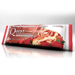 Quest Nutrition Protein Bar Strawberry Cheesecake 12 Bars 60g Each