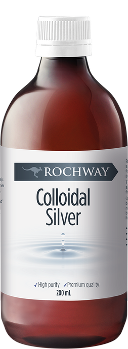 Rochway, Colloidal Silver, 200ml