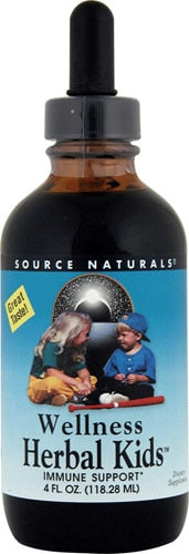 Source Naturals Wellness Herbal Kids™ Liquid Peppermint -- 4 fl oz