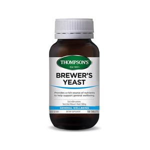 Thompson's Brewer's Yeast 100 Tablets