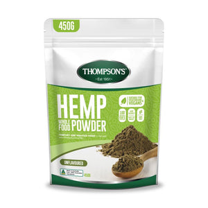 Thompson's Hemp Wholefood Powder 450g - Unflavoured