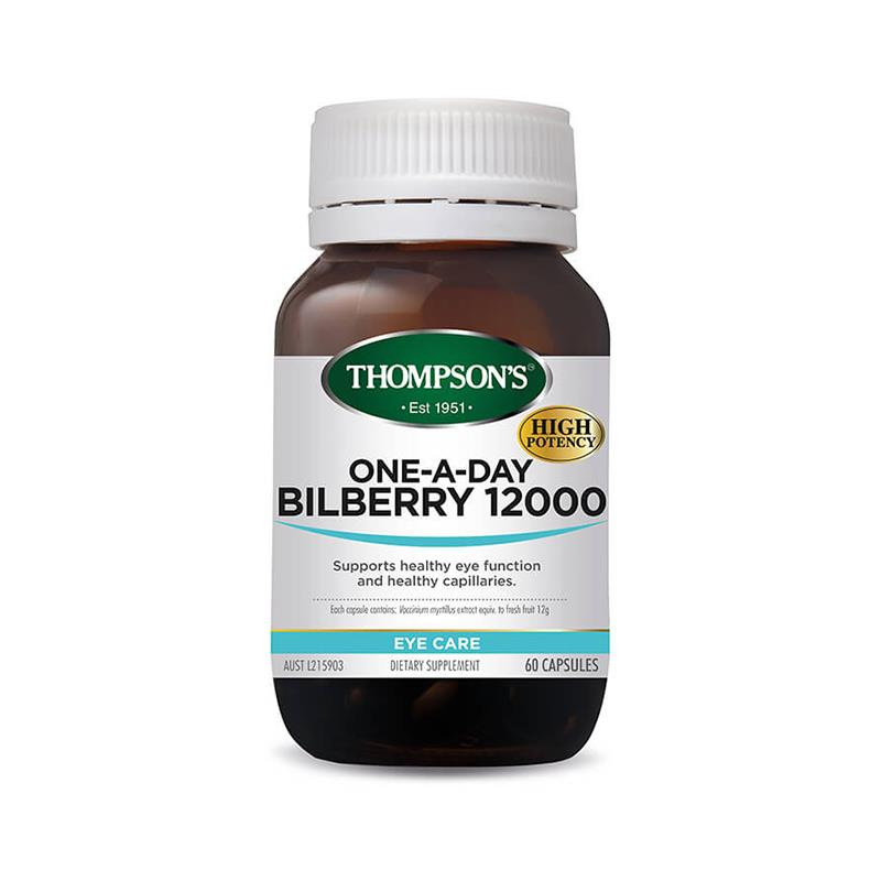 Thompson's One-A-Day Bilberry 12000 60 Capsules