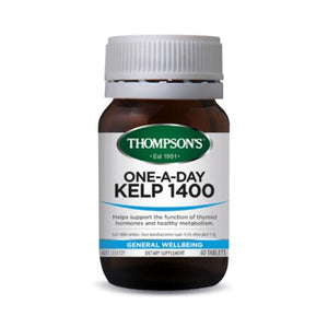 Thompson's One-A-Day Kelp 1400 60 Tablets