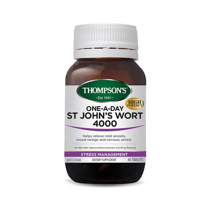 Thompson's One-A-Day St Johns Wort 4000 60 Tablets