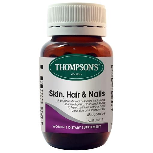 Thompson's Skin, Hair & Nails 45 Capsules